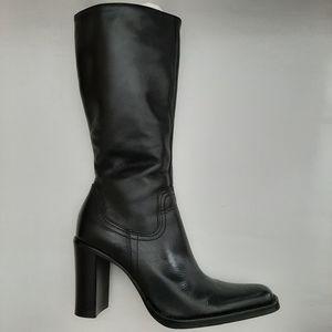 Steve Madden Black Boot